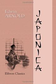 Cover of: Japonica | Edwin Arnold