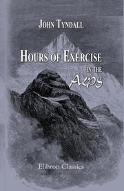 Cover of: Hours of Exercise in the Alps |