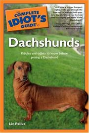 Cover of: The Complete Idiot's Guide to Dachshunds