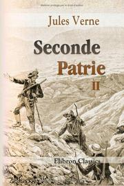Cover of: Seconde Patrie