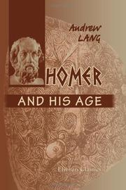 Cover of: Homer and His Age