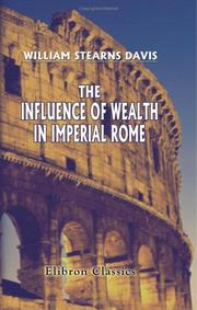 Cover of: The Influence Of Wealth In Imperial Rome