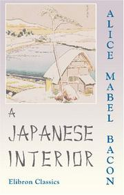 A Japanese interior by Alice Mabel Bacon