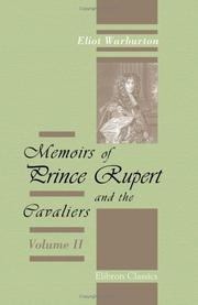 Cover of: Memoirs of Prince Rupert and the Cavaliers