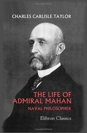Cover of: The Life of Admiral Mahan