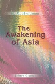 Cover of: The Awakening of Asia