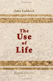 Cover of: The Use of Life