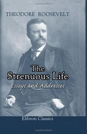 Cover of: The Strenuous Life