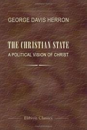 Cover of: The Christian state