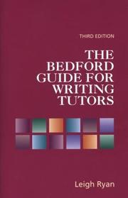 Cover of: The Bedford Guide for Writing Tutors