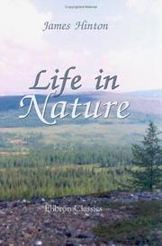 Cover of: Life in Nature | James Hinton