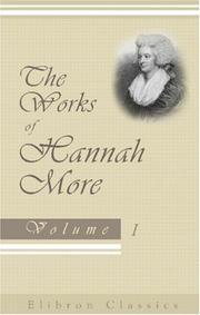 Cover of: The works of Hannah More