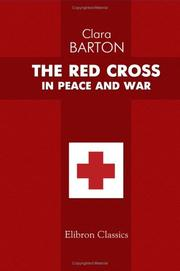 Cover of: The Red Cross in Peace and War