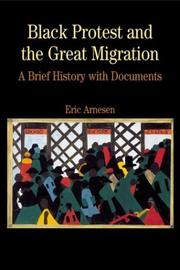 Cover of: Black protest and the great migration | Eric Arnesen