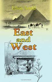 Cover of: East And West