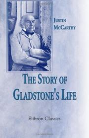 Cover of: The Story of Gladstone