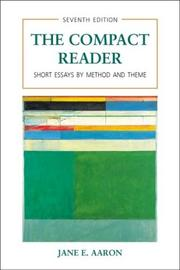 Cover of: The compact reader |