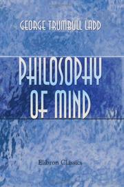 Cover of: Philosophy of Mind