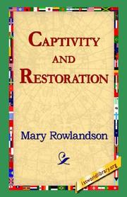 Cover of: Captivity and Restoration