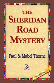 Cover of: The Sheridan Road Mystery | Paul Thorne