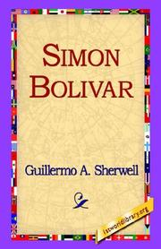 Cover of: Simon Bolivar | Guillermo A. Sherwell