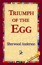 Cover of: Triumph of the Egg | Sherwood Anderson