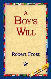 Cover of: A Boy's Will