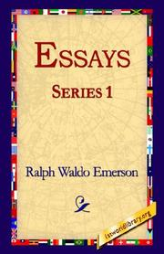 Cover of: Essays Series 1