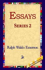 Cover of: Essays Series 2