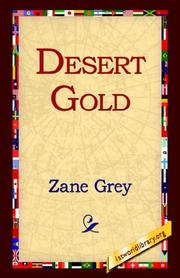 Cover of: Desert Gold | Zane Grey
