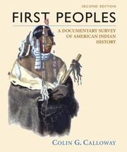 Cover of: First peoples