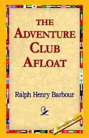 Cover of: The Adventure Club Afloat
