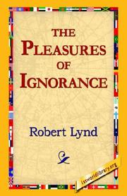 Cover of: The Pleasures of Ignorance
