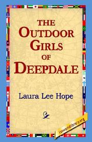 Cover of: The Outdoor Girls of Deepdale | Laura Lee Hope