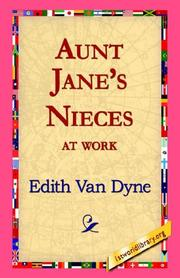Cover of: Aunt Jane