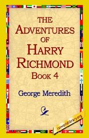 Cover of: The Adventures of Harry Richmond | George Meredith