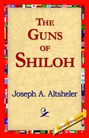 Cover of: The Guns of Shiloh