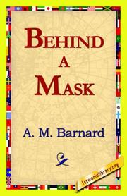 Cover of: Behind a Mask | A. M. Barnard