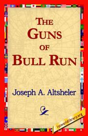 Cover of: The Guns of Bull Run