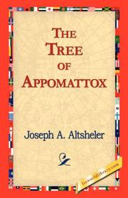 Cover of: The Tree of Appomattox