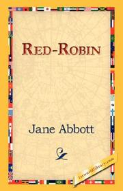 Cover of: Red-Robin | Jane Abbott