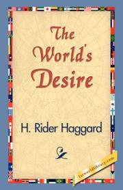 Cover of: The world's desire