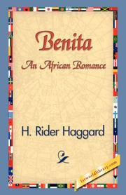 Cover of: Benita, an African Romance