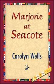 Cover of: Marjorie at Seacote