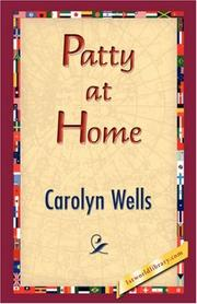 Cover of: Patty at Home