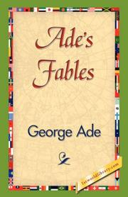 Cover of: Ade's Fables