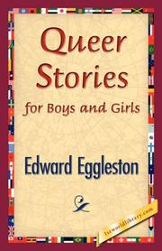 Cover of: Queer Stories for Boys and Girls | Edward Eggleston