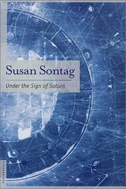 Cover of: Under the sign of Saturn