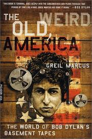 Cover of: The Old, Weird America
