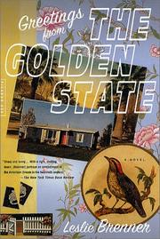 Cover of: Greetings from the Golden State